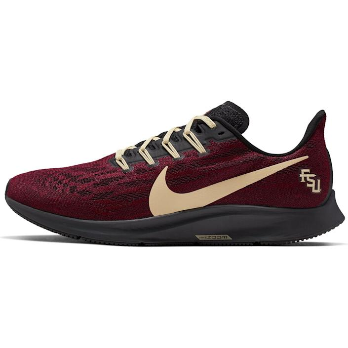 Men's Nike Garnet/Gold Florida State Seminoles Air Zoom Pegasus 36 Sneakers