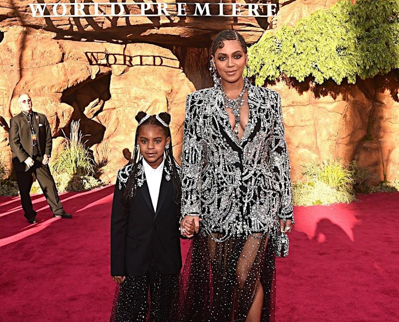 """Beyoncé's kids were the true stars of her behind-the-scenes """"Making The Gift"""" special"""