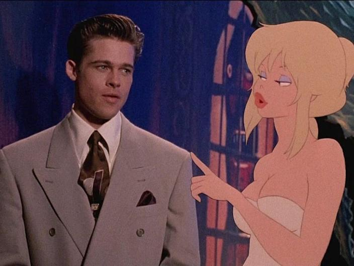 brad pitt cool world