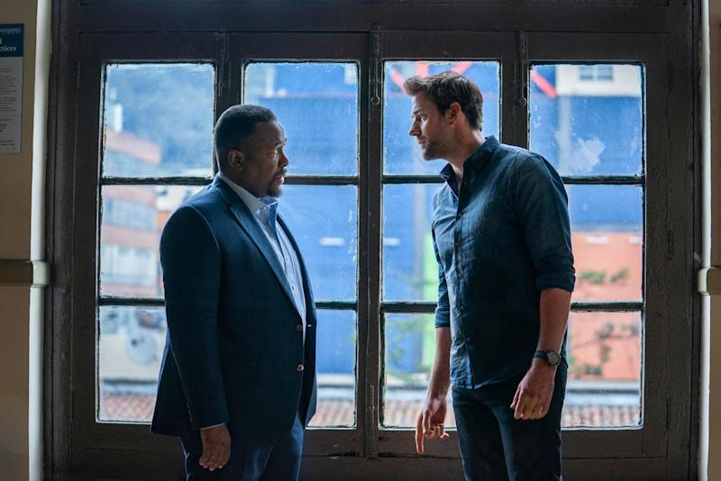 Wendell Pierce Brings Patriotism and Passion to His Role in 'Tom Clancy's Jack Ryan'
