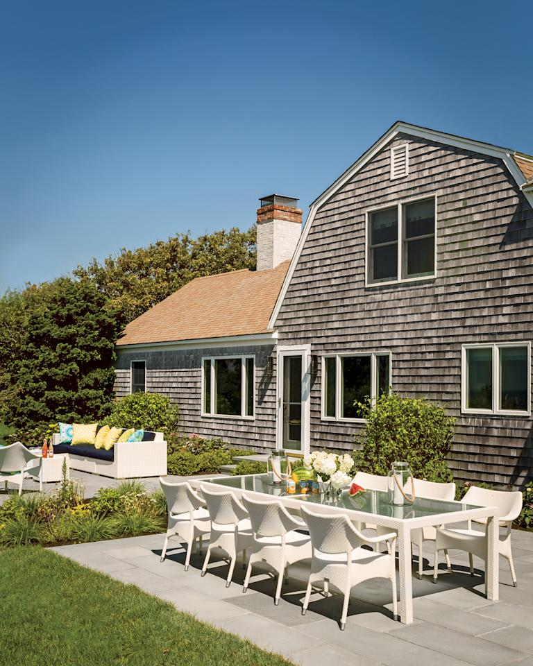 Colorful Cape Cod Cottage Makeover
