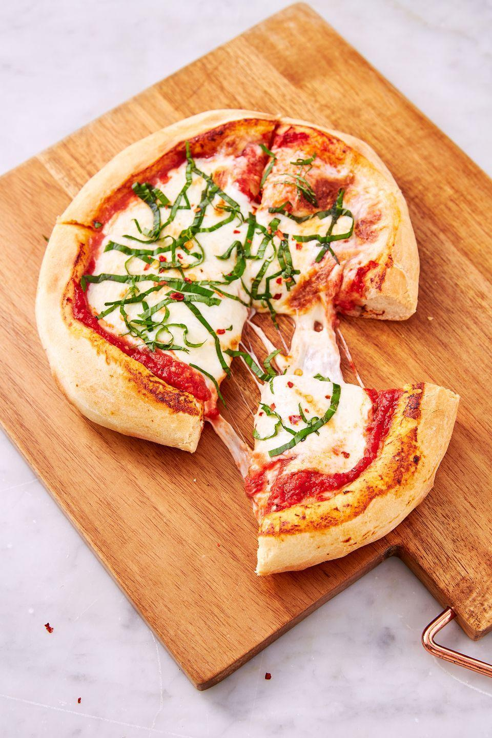 """<p>Once you go air fryer you'll never go back. </p><p>Get the recipe from <a href=""""https://www.delish.com/cooking/recipe-ideas/a28563446/air-fryer-pizza-recipe/"""" rel=""""nofollow noopener"""" target=""""_blank"""" data-ylk=""""slk:Delish"""" class=""""link rapid-noclick-resp"""">Delish</a>.</p>"""