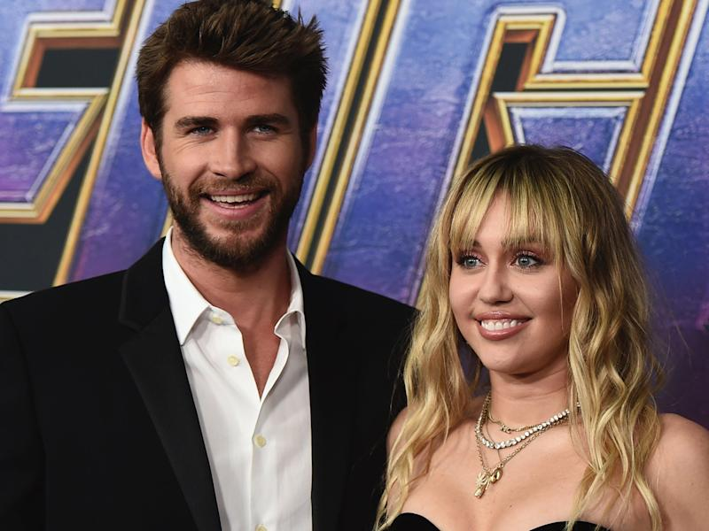 liam hemsworth miley cyrus april 2019