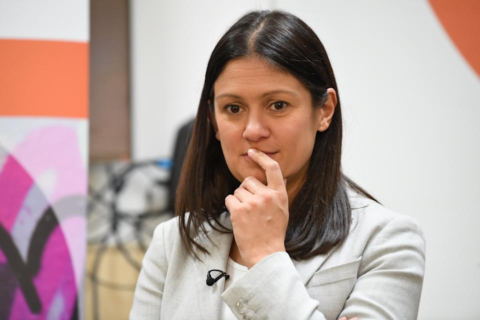 Labour leadership candidate Lisa Nandy gives a speech on the welfare state at the the homeless charity Centrepoint in central London.