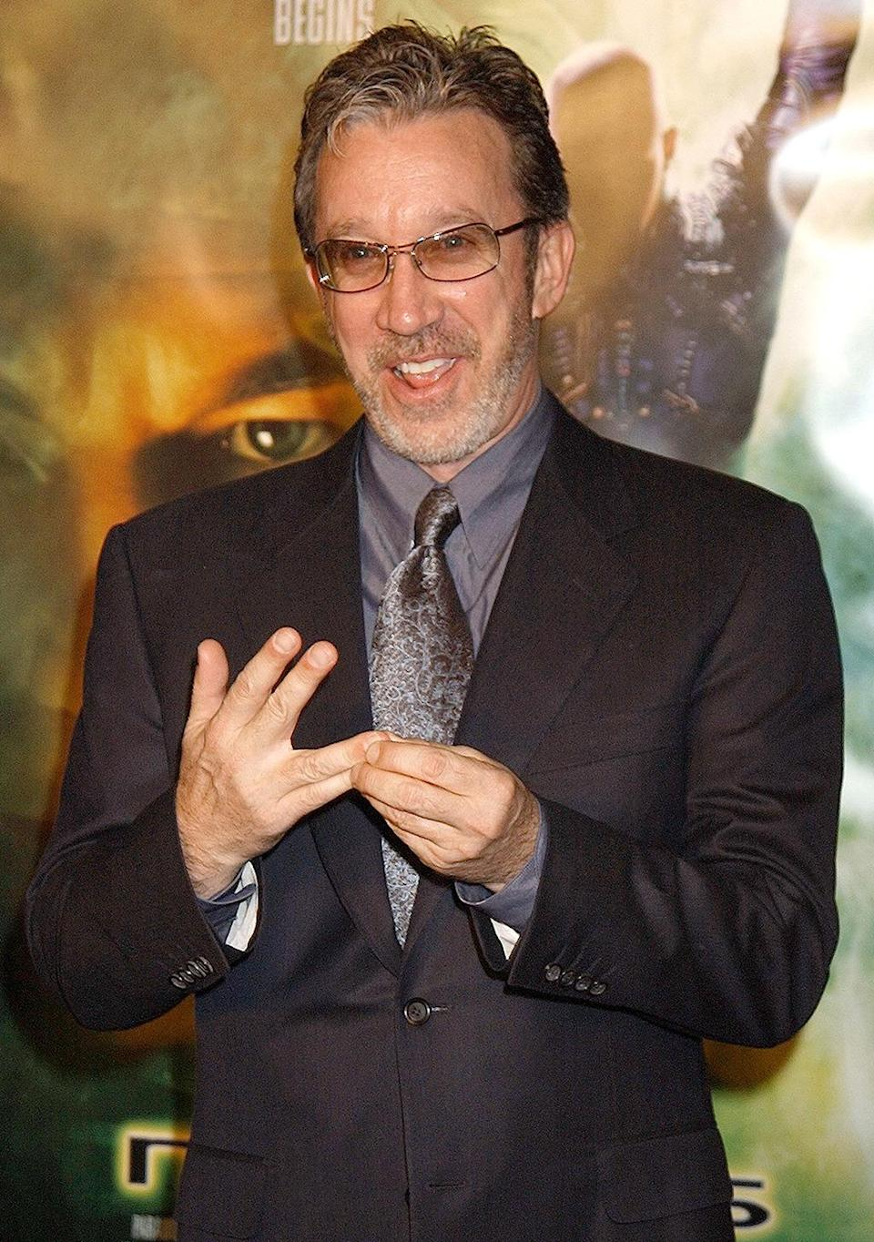<p><i>Galaxy Quest</i> star Tim Allen attends the premiere as a guest. <i>(Photo: Gregg DeGuire/WireImage)</i></p>