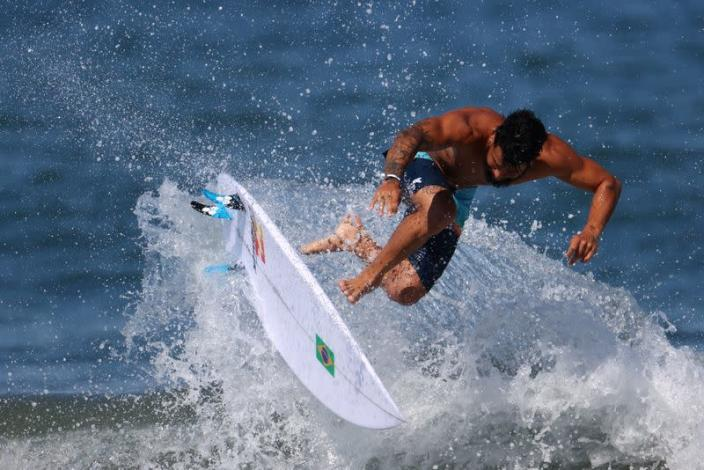 FILE PHOTO: Tokyo 2020 Olympics - Surfing Training Session