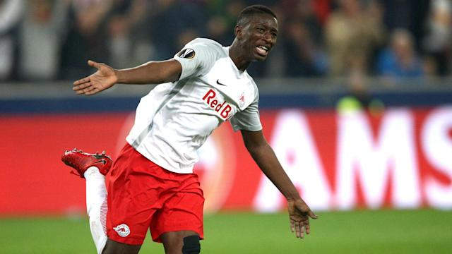 The Ligue 1 outfit hold a 2-0 lead heading into the second leg of their Europa League semi-final in Austria - follow the action LIVE!