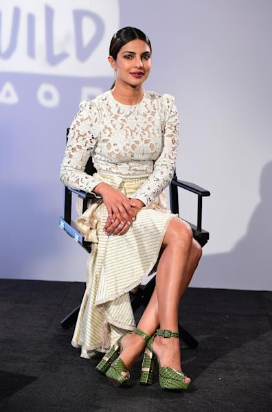 <p>US pop star Jonas wore traditional Indian attire for the ceremony in Mumbai. </p>