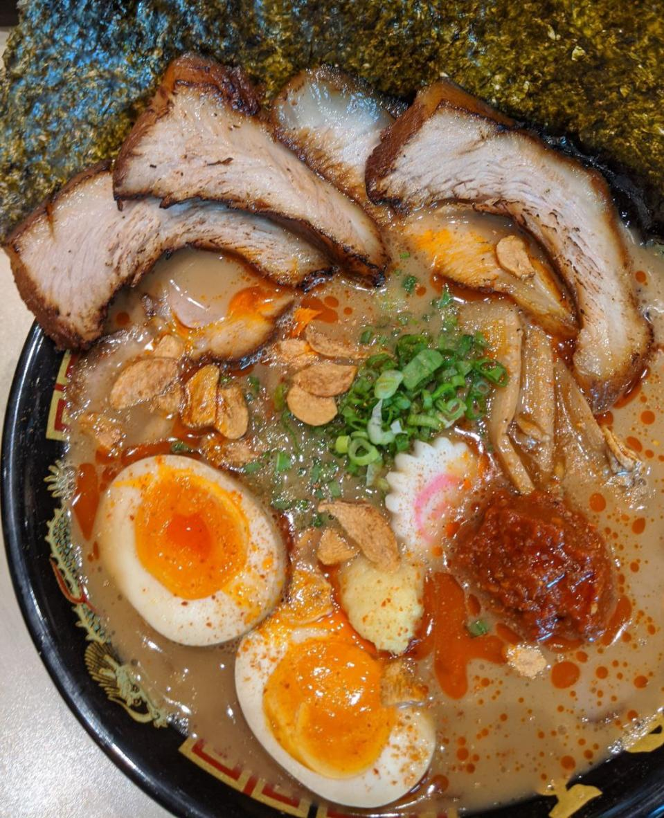 All Niku King Ramen Spicy Tonkotsu, $20.90