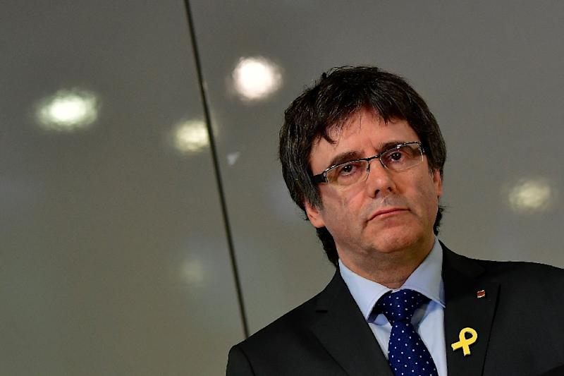 A Spanish judge dropped European and international arrest warrants for deposed Catalan president Carles Puigdemont and other separatist leaders who fled abroad