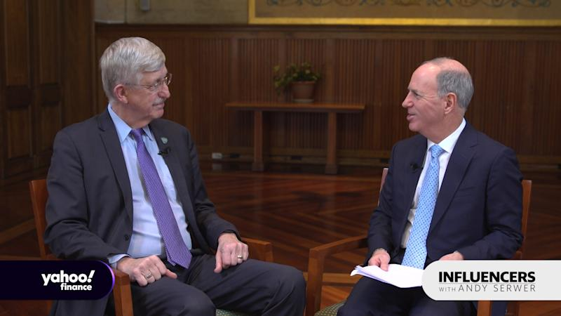 Francis Collins, director of the National Institutes for Health, appears on Influencers with Andy Serwer