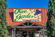 <p>In the mood for Italian? You'll have to find a different spot. Olive Garden will be closed on Thanksgiving, so you better get your fill of endless soup, salad, and breadsticks ahead of time.</p>