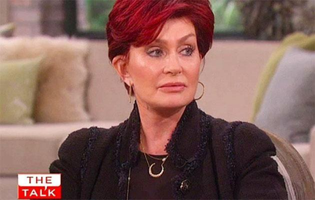 Sharon Osbourne has been open about her marriage on The Talk. Source: CBS