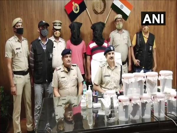 A case has been registered against arms smugglers under Arms Act and section 307 of Indian Penal Code. Photo/ANI