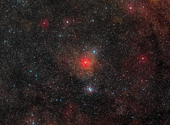 Largest Yellow Star Ever Seen Revealed in New Light (Video, Images)