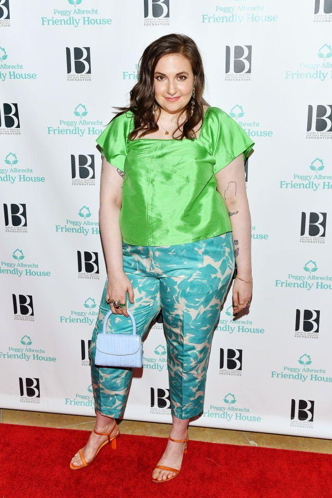 """<p>In 2018, Lena Dunham shared a before-and-after photo of her 24-pound weight loss on <a href=""""https://www.instagram.com/p/BlD0jg0F-NF/"""" rel=""""nofollow noopener"""" target=""""_blank"""" data-ylk=""""slk:Instagram"""" class=""""link rapid-noclick-resp"""">Instagram</a>, noting that although she was thinner in the photo on the left, she wasn't happy. """"Even this OG body positivity warrior sometimes looks at the left [photo] longingly, until I remember the impossible pain that brought me there and onto my proverbial knees."""" The message is a reminder that weight loss isn't always achieved in a healthy way, which is why you should think twice before commenting on someone else's body.<br></p>"""