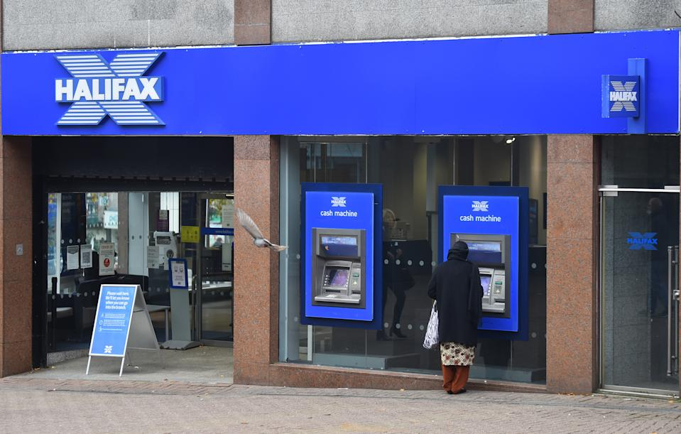 A branch of Halifax bank in Stoke-on-Trent, Staffordshire, England. Photo: Nathan Stirk/Getty Images