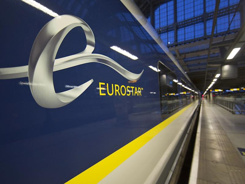 Eurostar train at St Pancras Station: AFP/Getty