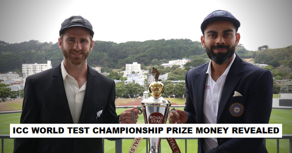 ICC World Test Championship Prize Money Announced, Amount To Be Shared Between Both The Teams In Case Of A Draw