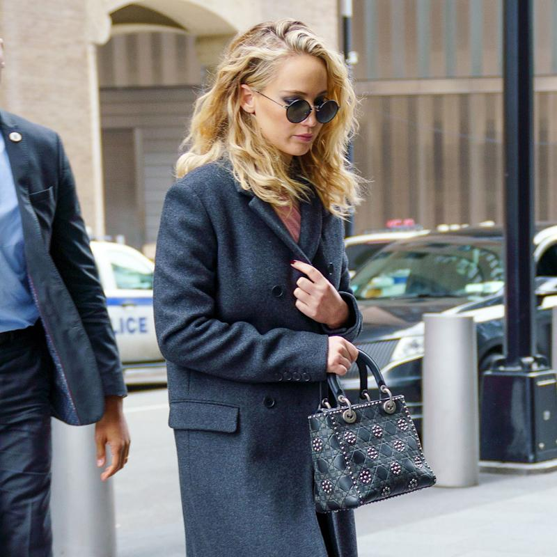 Jennifer Lawrence Adds Edge With 2 Easy Pieces