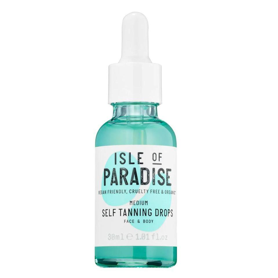"""<p><strong>Isle of Paradise</strong></p><p>sephora.com</p><p><strong>$29.00</strong></p><p><a href=""""https://go.redirectingat.com?id=74968X1596630&url=https%3A%2F%2Fwww.sephora.com%2Fproduct%2Fself-tanning-drops-P431180&sref=https%3A%2F%2Fwww.bestproducts.com%2Fbeauty%2Fg33534382%2Ftiktok-beauty-products%2F"""" rel=""""nofollow noopener"""" target=""""_blank"""" data-ylk=""""slk:Shop Now"""" class=""""link rapid-noclick-resp"""">Shop Now</a></p><p>Want to get your tan on without burning in the sun? Then consider this your <a href=""""https://www.tiktok.com/@kseniasenn/video/6802309803273211141"""" rel=""""nofollow noopener"""" target=""""_blank"""" data-ylk=""""slk:TikTok-approved"""" class=""""link rapid-noclick-resp"""">TikTok-approved</a> cheat to a sunkissed glow. These self-tanning drops come in three shades to choose from (light, medium, and dark) to give your skin a pop of bronzed color. Just add to your favorite moisturizer, and you're all set.</p>"""