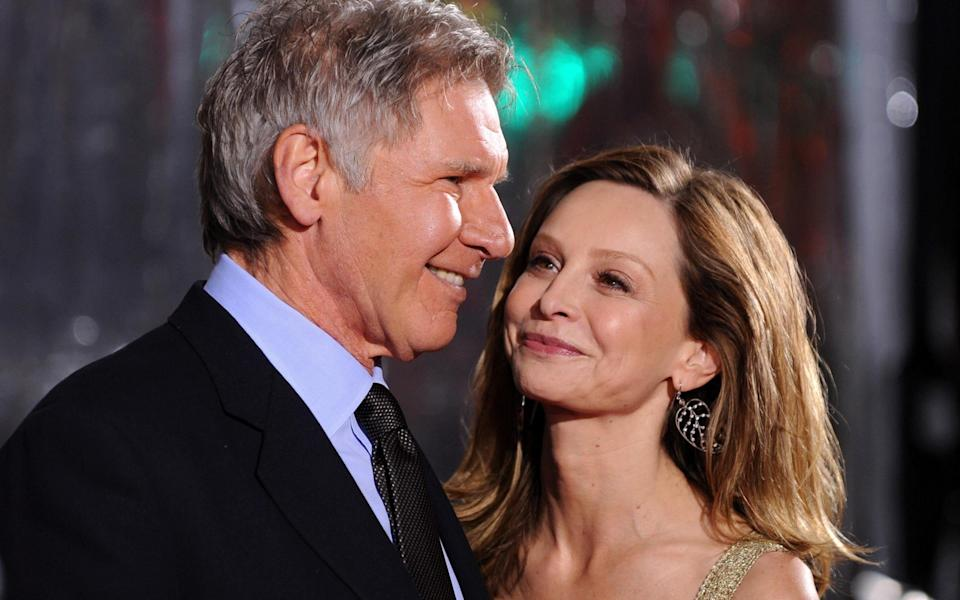 Harrison Ford and Calista Flockhart have a 22 year age-gap - Getty