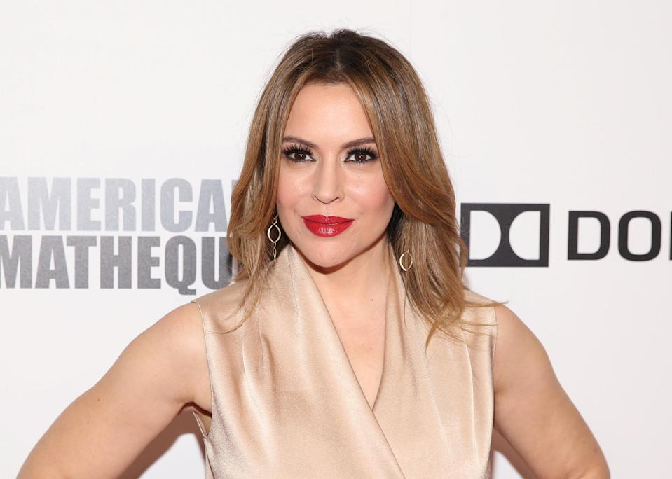 Alyssa Milano got upset when commenters on social media dismissed her call for less wasteful toy packaging. (Photo: REUTERS/Danny Moloshok)