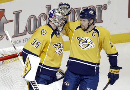 Off to a great start, the Predators look good to return to the playoffs for the first time since 2012. (AP)