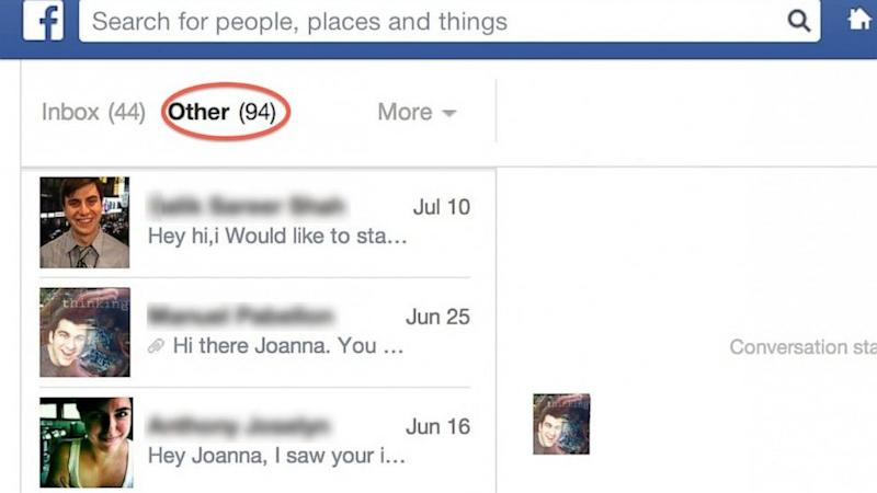 You've Got Hidden Facebook Messages: Check the Other Folder in Your Inbox