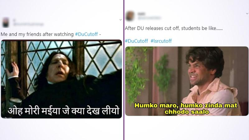 DU Cut-Off Funny Memes Take Over Twitter: Students Relieve Their Stress of 100% Cut Off in Top Delhi Colleges by Sharing Jokes