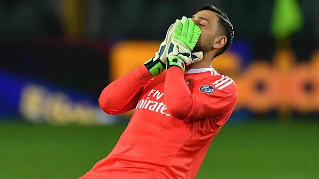 Gennaro Gattuso insisted errors are part and parcel of football as he backed 19-year-old goalkeeper Gianluigi Donnarumma to come good.