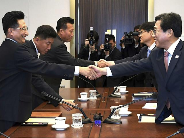 The new agreement follows a number of others between North and South Korea: AP