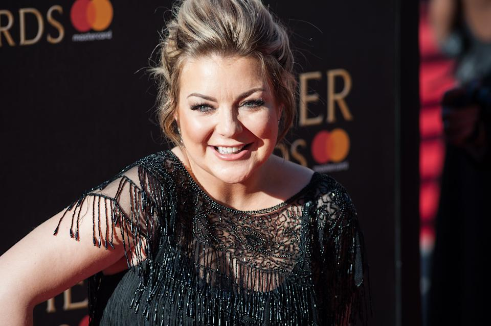 Sheridan Smith attends the 2017 Olivier Awards with Mastercard ceremony at the Royal Albert Hall on April 09, 2017 in London, England. (Wiktor Szymanowicz / Barcroft Im / Barcroft Media via Getty Images)