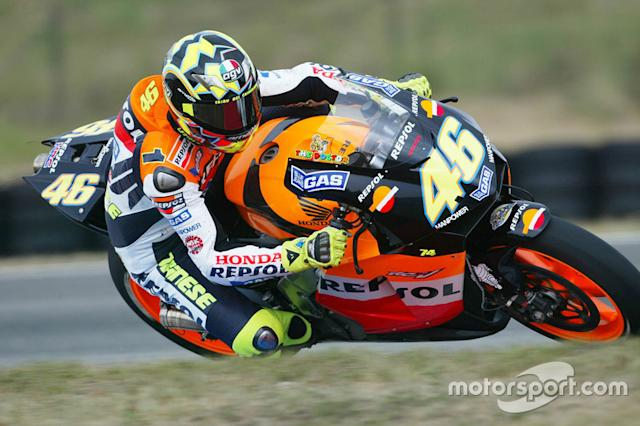 """2003 - Valentino Rossi (357) <span class=""""copyright"""">Gold and Goose / Motorsport Images</span>"""