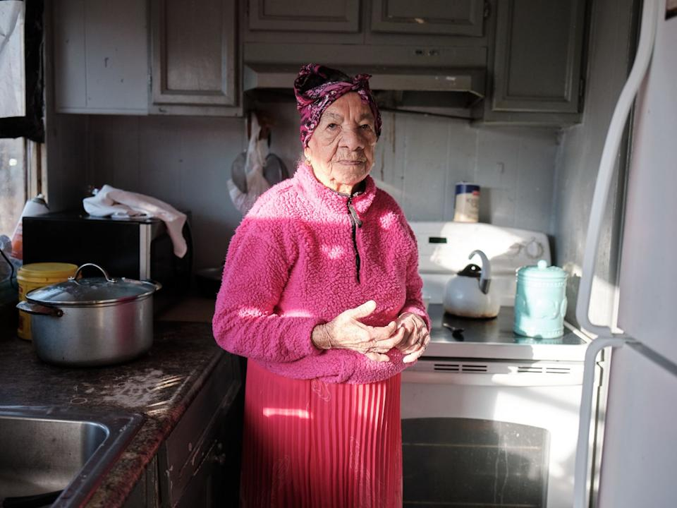 Doña Amalia misses her grandchildren since they disappeared into custody of the Office of Refugee Resettlement.