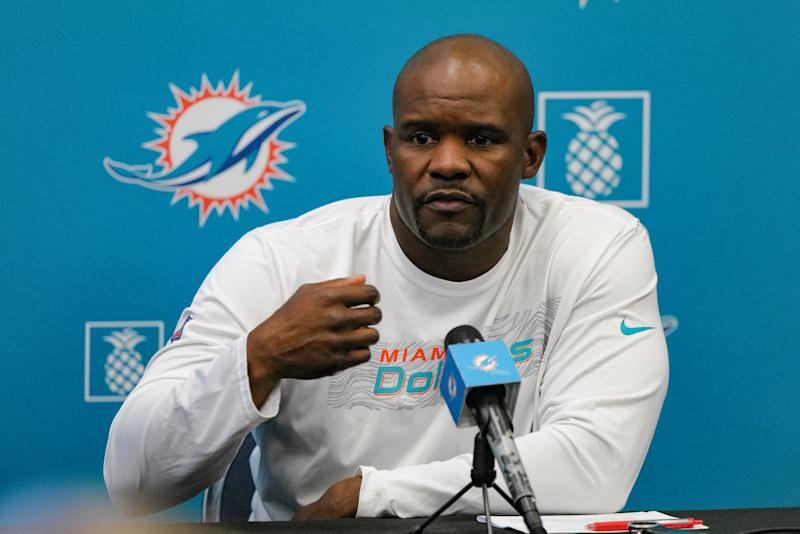 Dolphins head coach Brian Flores released a powerful statement on Friday morning after the death of George Floyd — which has sparked protests across the country in recent days.