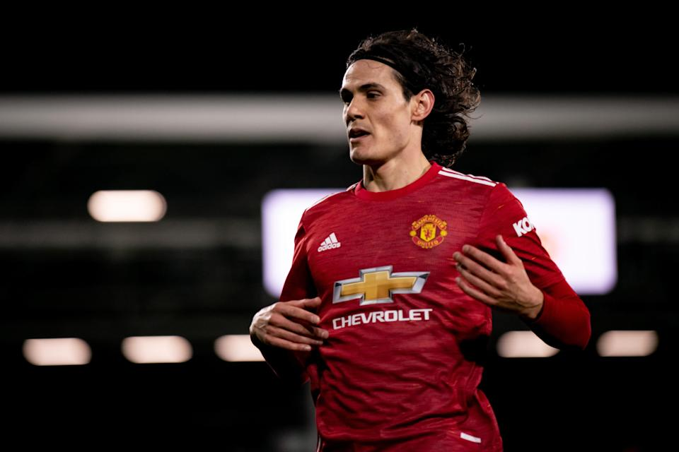 Edinson Cavani (Manchester United via Getty Imag)