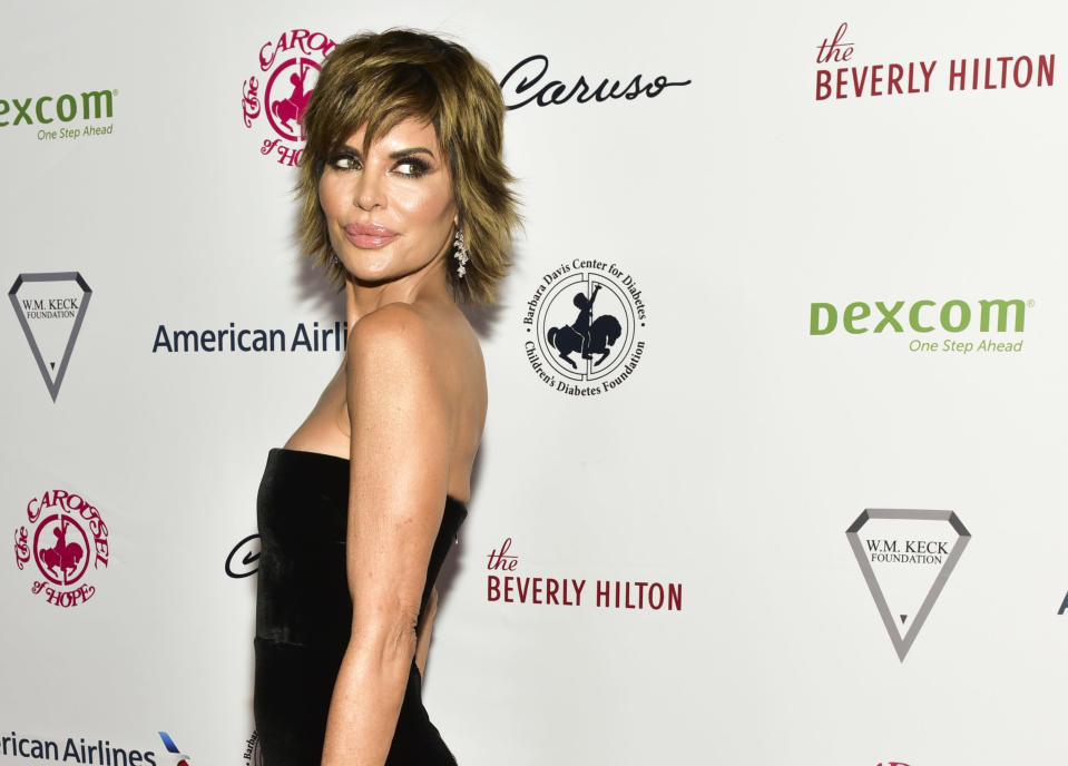 Lisa Rinna in Oct.2018 in Beverly Hills, California. (Photo: Rodin Eckenroth/Getty Images)