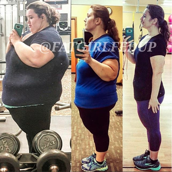 The couple started cooking and meal planning and joined a gym. Photo: Instagram