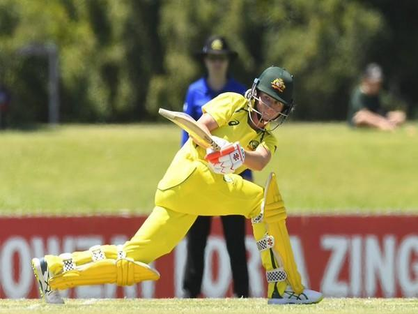 Beth Mooney in action against India (Photo/ ICC Twitter)