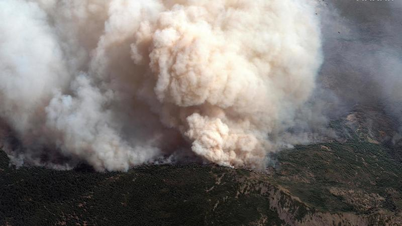 Smoke from wildfires in western US tracked as far as Europe