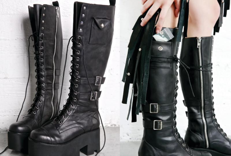 Boots with cocaine pocket are for sale solutioingenieria Choice Image