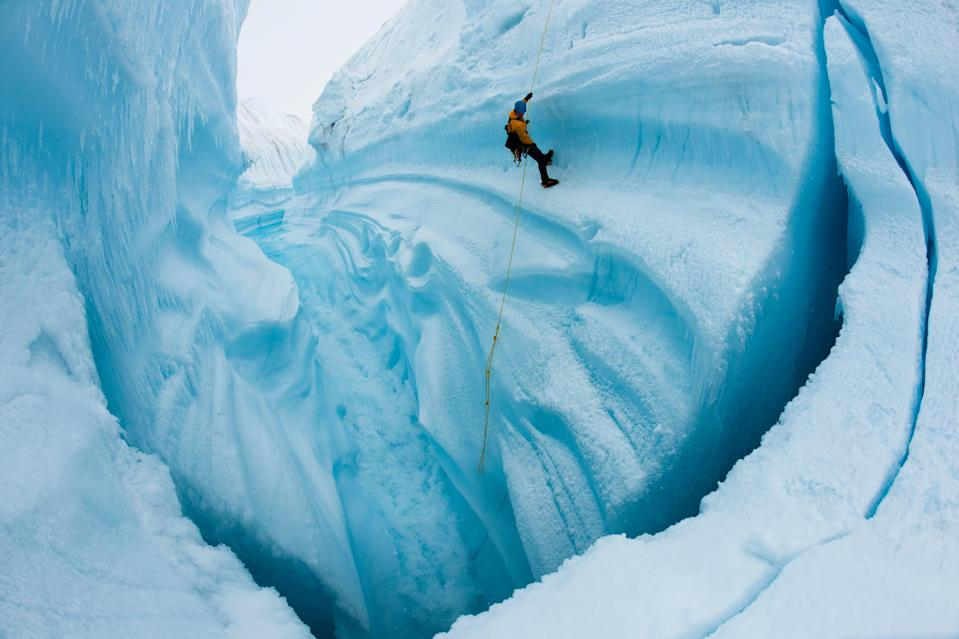 <p>A still from 2012 documentary Chasing Ice, which will stream on Waterbear</p> (James Balog/Extreme Ice Survey)