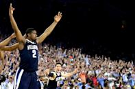 "<p><span>Then: </span><i><span>Bang!</span></i><span> Jenkins' triple from the wing will be on every NCAA tournament highlight reel played from now to eternity. The buzzer-beating shot secured Nova's win over North Carolina in the 2016 title game, the program's first championship since 1985.</span><br><span>Now: Things haven't gone smoothly following that title. The 6-foot-6 guard went undrafted following his senior season in 2017. He got a summer league invitation from the Wizards and played briefy in the G-League. He was set to play in Turkey but failed his physical. He spent part of the 2017-18 season playing in the North American Premier Basketball League, but was suspended because he was ""not willing to put in the time and the effort,"" a claim he denies. He's currently playing pro ball in Germany.</span> </p>"