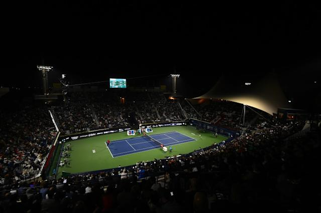 """The WTA and ATP tours have canceled several tournaments. <span class=""""copyright"""">(Tim Dulat / Getty Images)</span>"""