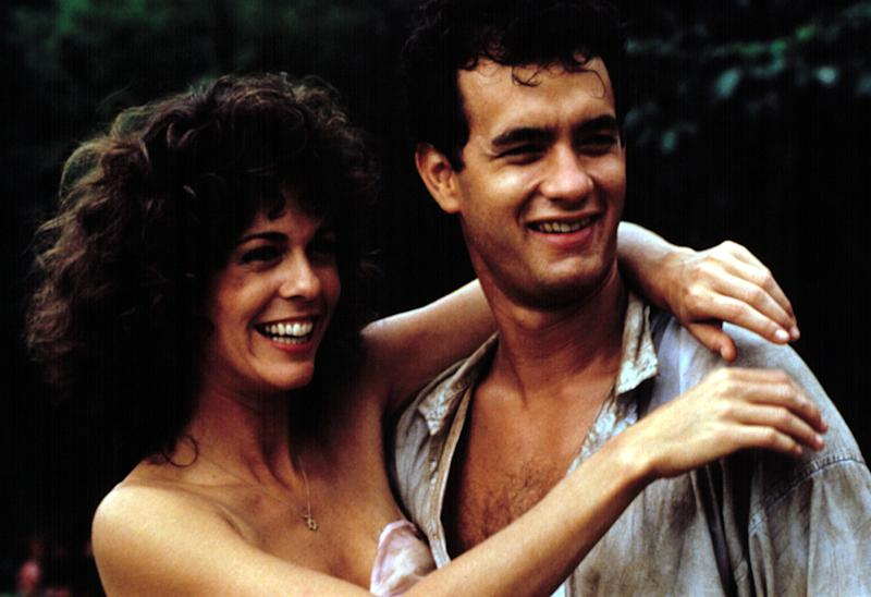 Rita Wilson and Tom Hanks in the 1985 comedy 'Volunteers' (Photo: Courtesy Everett Collection)