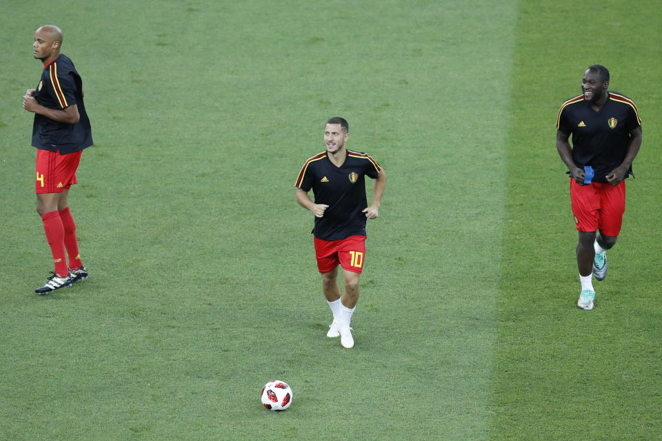 Eden Hazard was one of Belgium's stars as they finished third in the World Cup