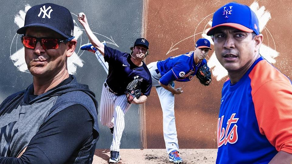 Aaron Boone, Gerrit Cole, Jacob deGrom and Luis Rojas treated art local predictions