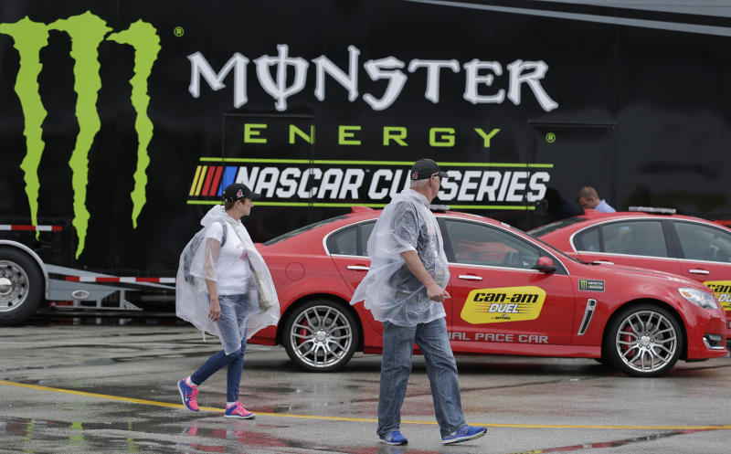 Monster Energy tries to give NASCAR buzz as title sponsor