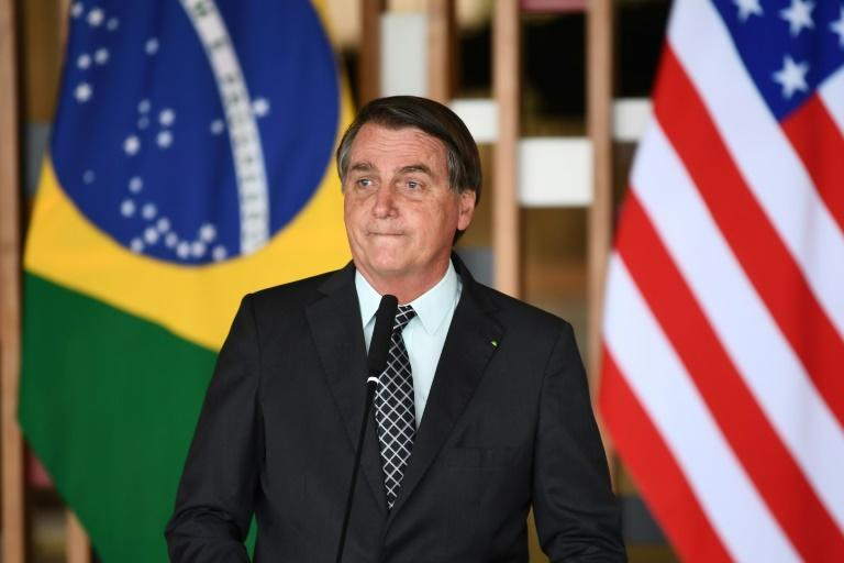 Brazilian President Jair Bolsonaro has downplayed the threat posed by the coronavirus even though his country is one of the hardest hit in the world